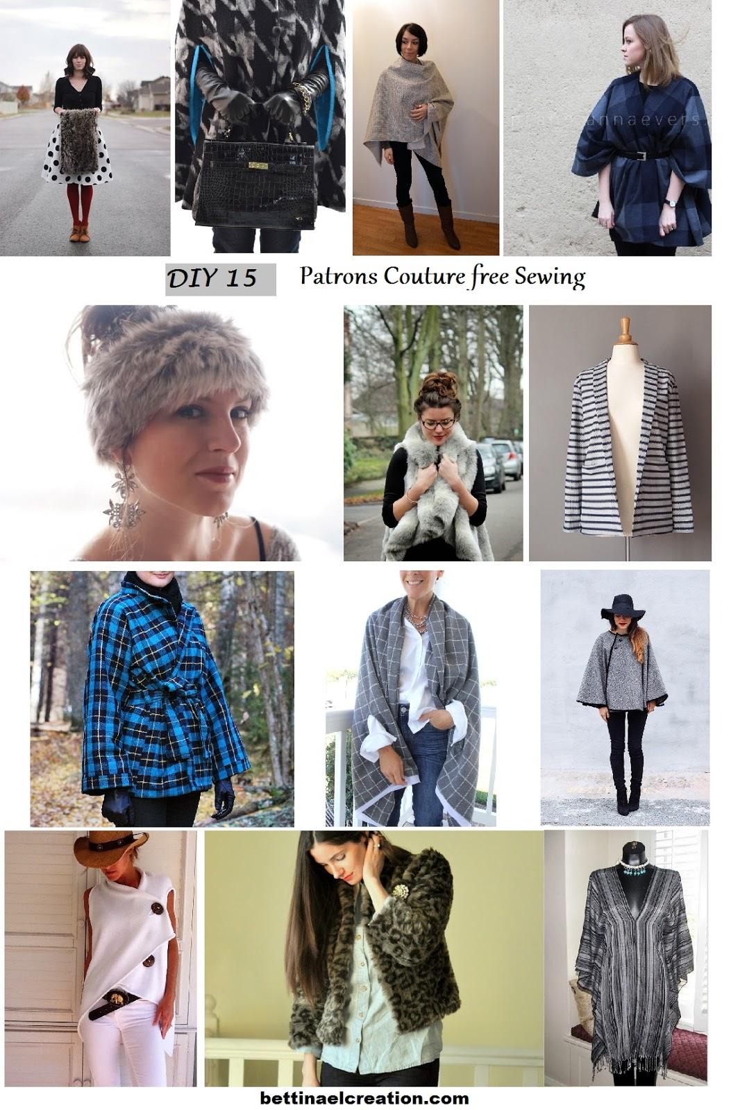 Diy 15 id es de couture saison automne hiver bettinael passion couture made in france - Diy couture facile ...