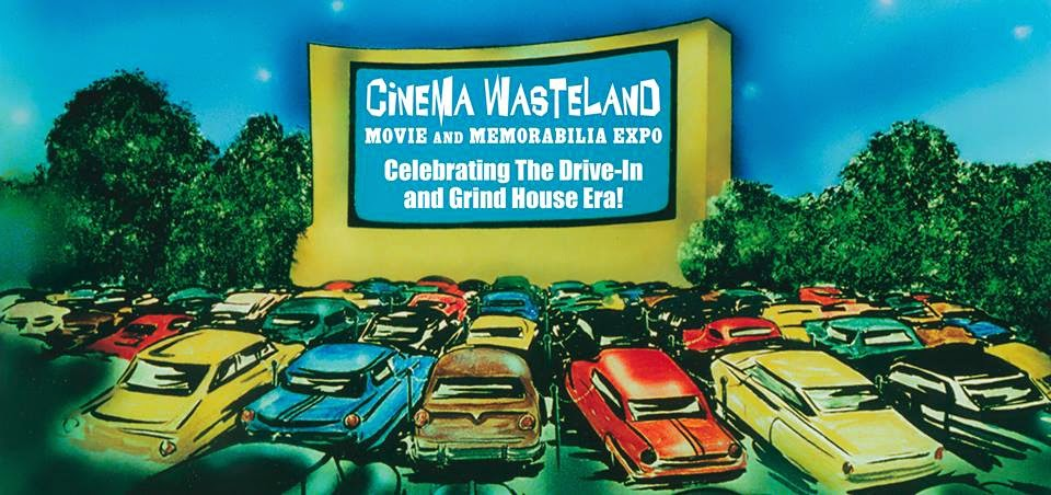 For one weekend every April and October, the Holiday Inn in Strongsville ( Cleveland area), Ohio is taken over by the Cinema Wasteland Movie and  Memorabilia ...