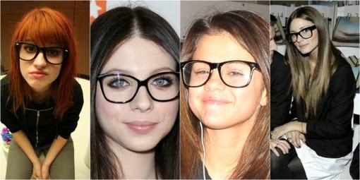oculos de grau esta na moda