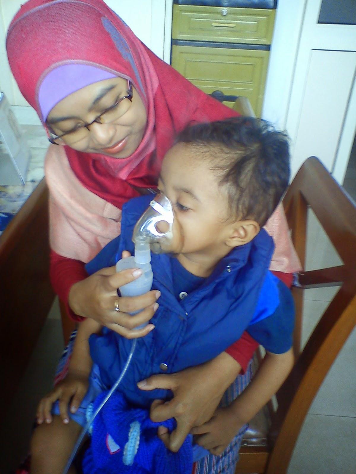 Terapi Nebulizer pada Anak
