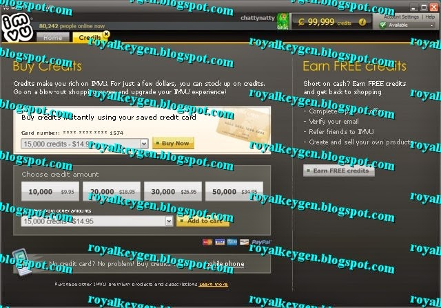 Here is the proof that IMVU Credits Hack Tool works awesome!