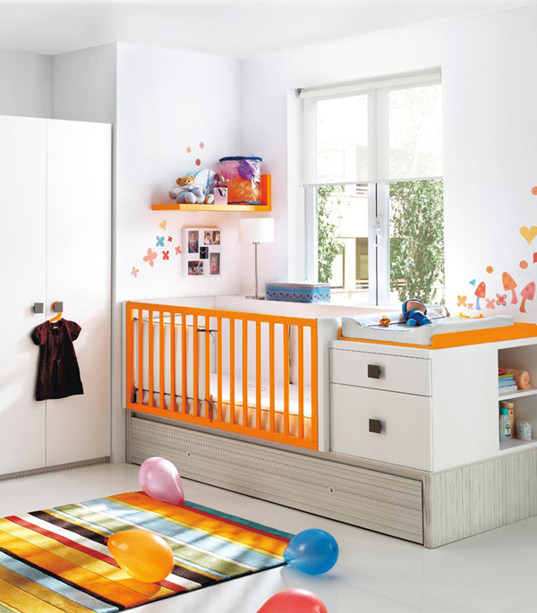 De bebes modernas beautiful nombre bebes varon with de for Cuartos para bebes modernos