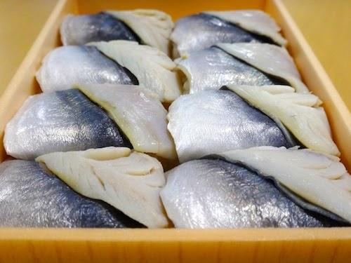 伝承 鯵の押寿司