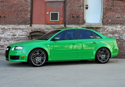 One Of A Kind Viper Green Audi RS Comes Up For Sale Quattroholiccom - Audi rs4 for sale
