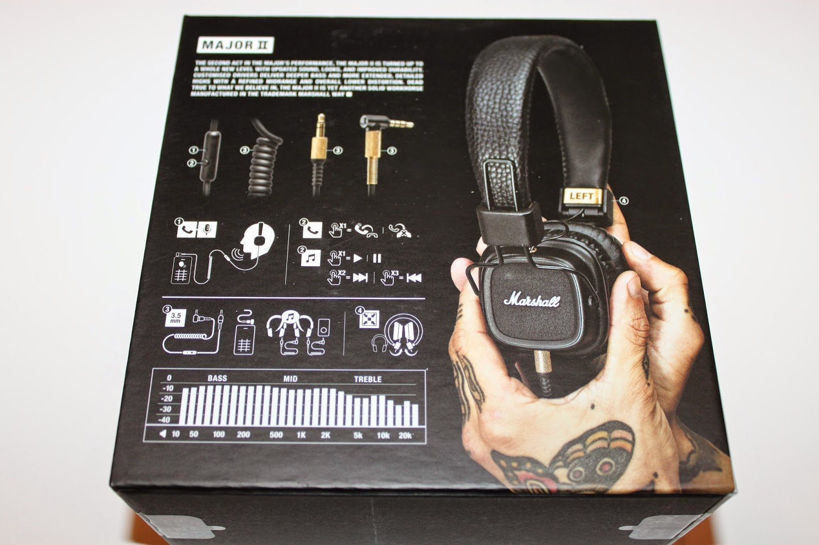 stereowise plus marshall major ii on ear headphone review. Black Bedroom Furniture Sets. Home Design Ideas