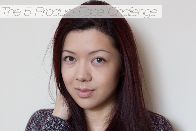 the five 5 product face challenge tag