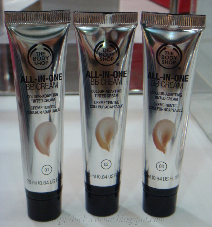Lucky citrine the body shop all in one make up range for Bb shopping it