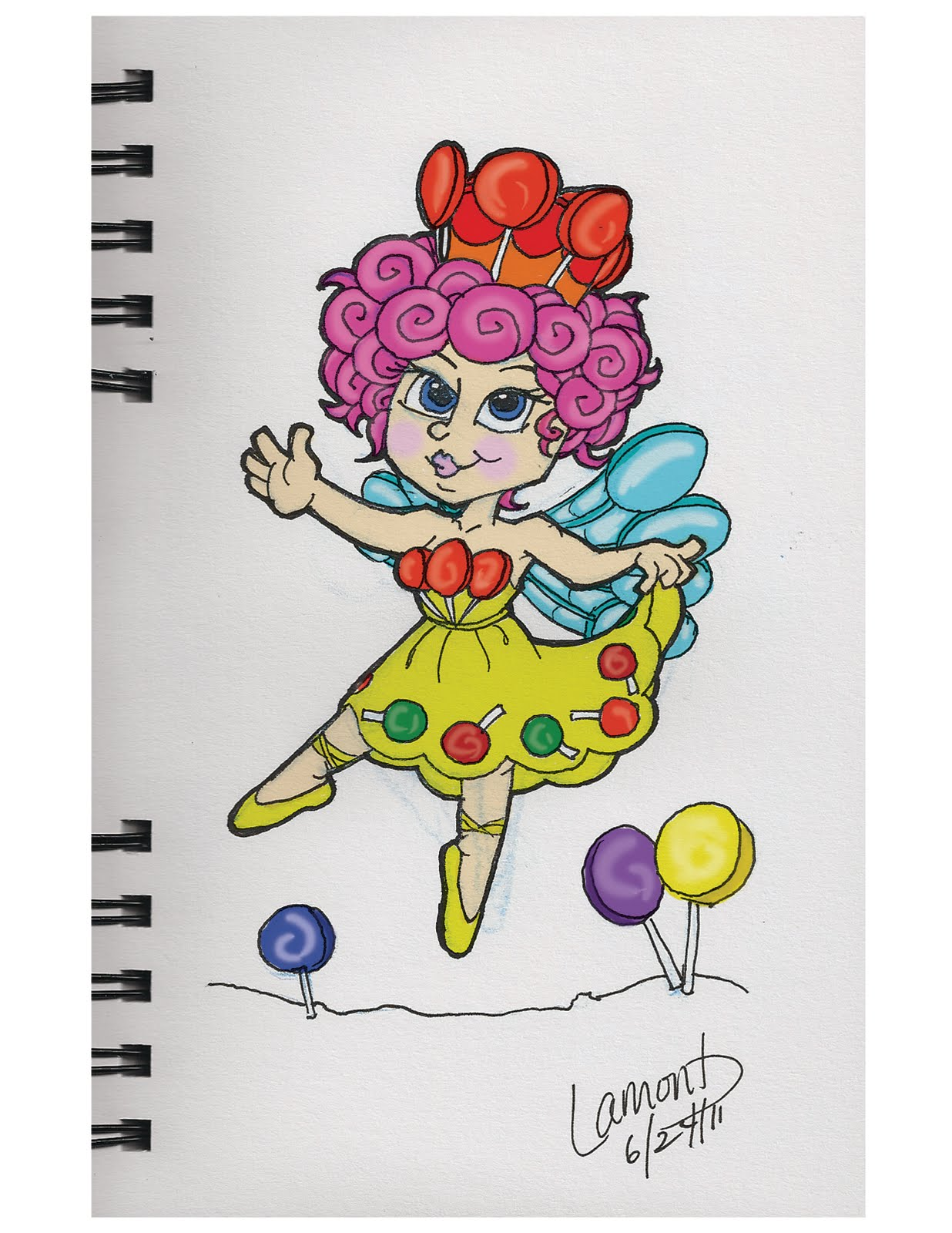 Candyland Jolly Coloring Pages