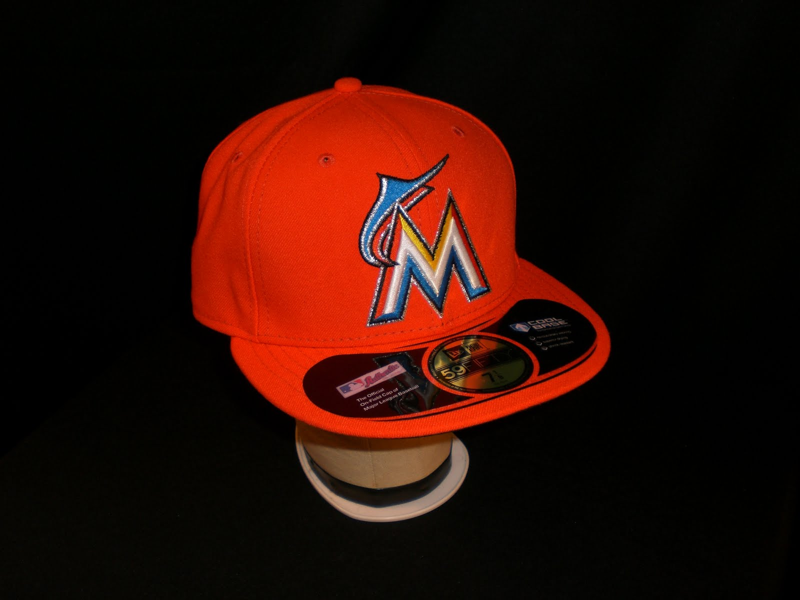 Embroidery Fitteds Miami Marlins Road