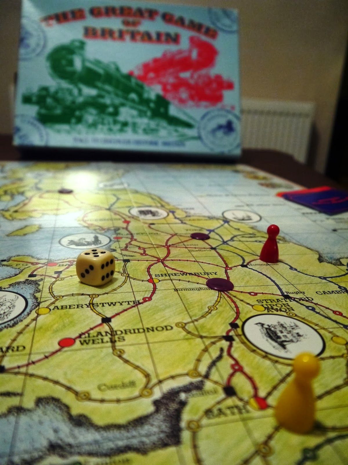 The Great Game of Britain board game