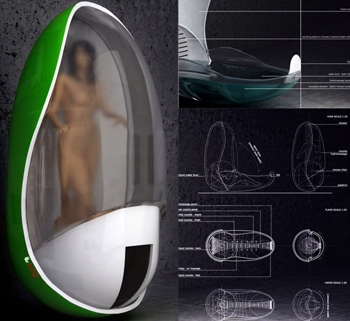 Bathtubs Of The Future