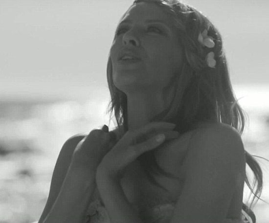 flower music video screen grab