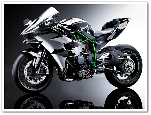 Motor Super Sports Kawasaki H2R