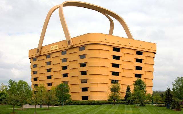 Edificios extraños: Empresa de construcción de Longaberger