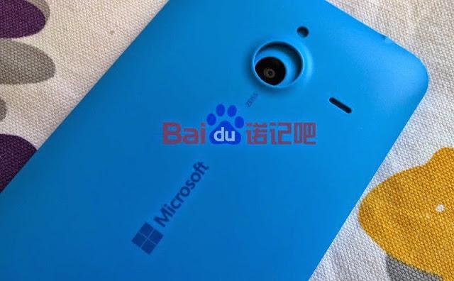 Lumia 1330 back view