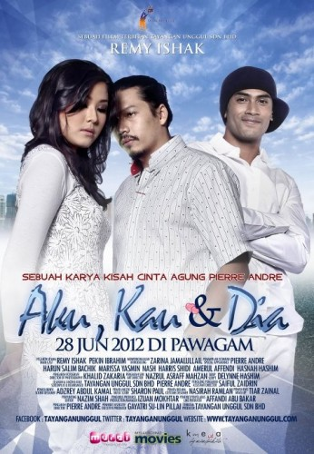 Poster Filem Aku Kau Dan Dia