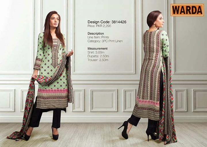 Warda Grace Fall / Winter Collection 2014