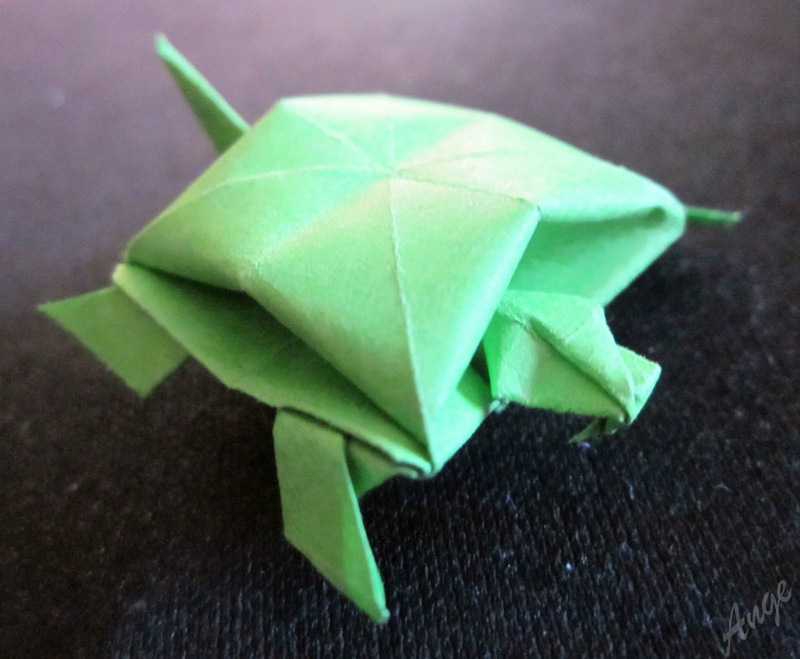 The Daily Turtle 102 Origami Turtle