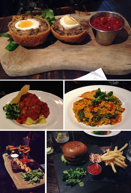 Food - Jolly Botanist Edinburgh