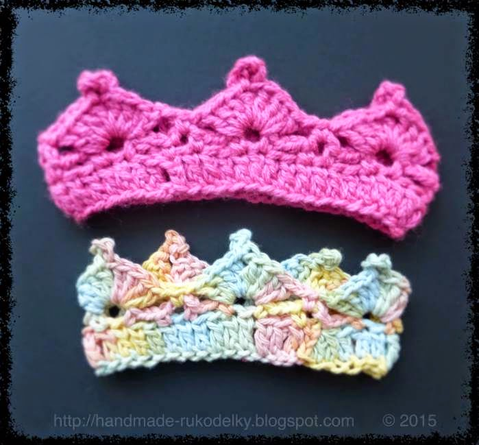 Hand Made Rukodelky Crocheted Crown For Child Easy Free Pattern