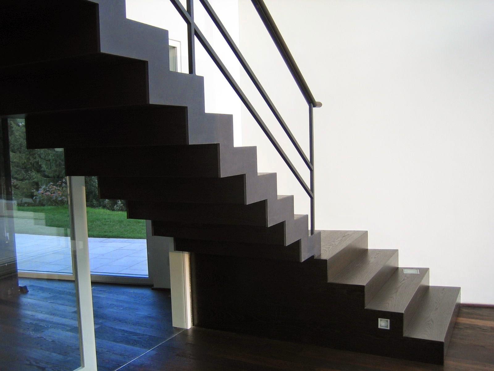 stahltreppe mit abgetreppten wangen fr bel metallbau. Black Bedroom Furniture Sets. Home Design Ideas