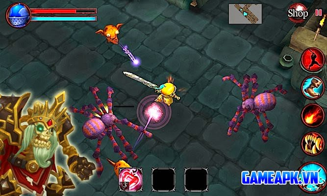 Mini Dungeons (Action RPG) v1.02.0 APK Mod cho Android
