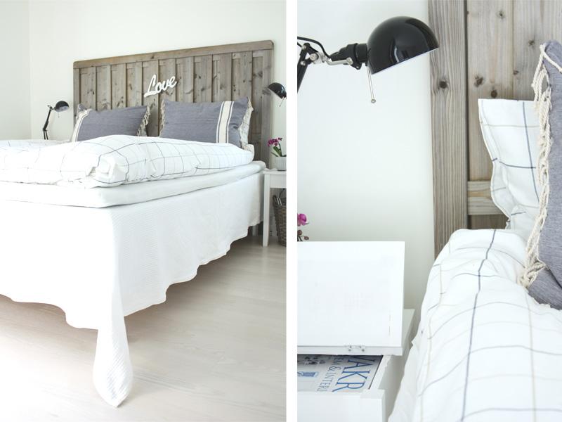 Boho Deco Chic: La sencillez de un dormitorio blanco y madera