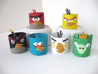 Make Paper Angry Birds