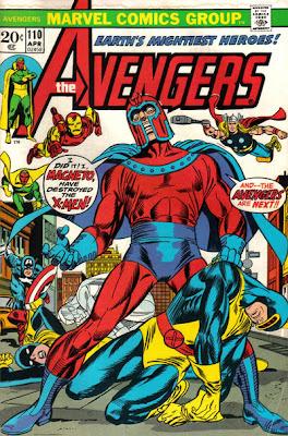 Avengers #110, Magneto
