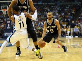Spurs and Heat in Conference Finals against Grizzlies nad Pacers