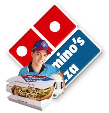 Domino's Pizza delivery logo