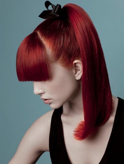 Kapsels En Haarverzorging Trendy Kapsels Rood Haar