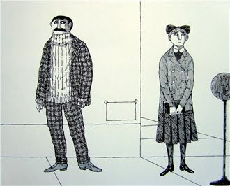 From The Lost Lions by Edward Gorey