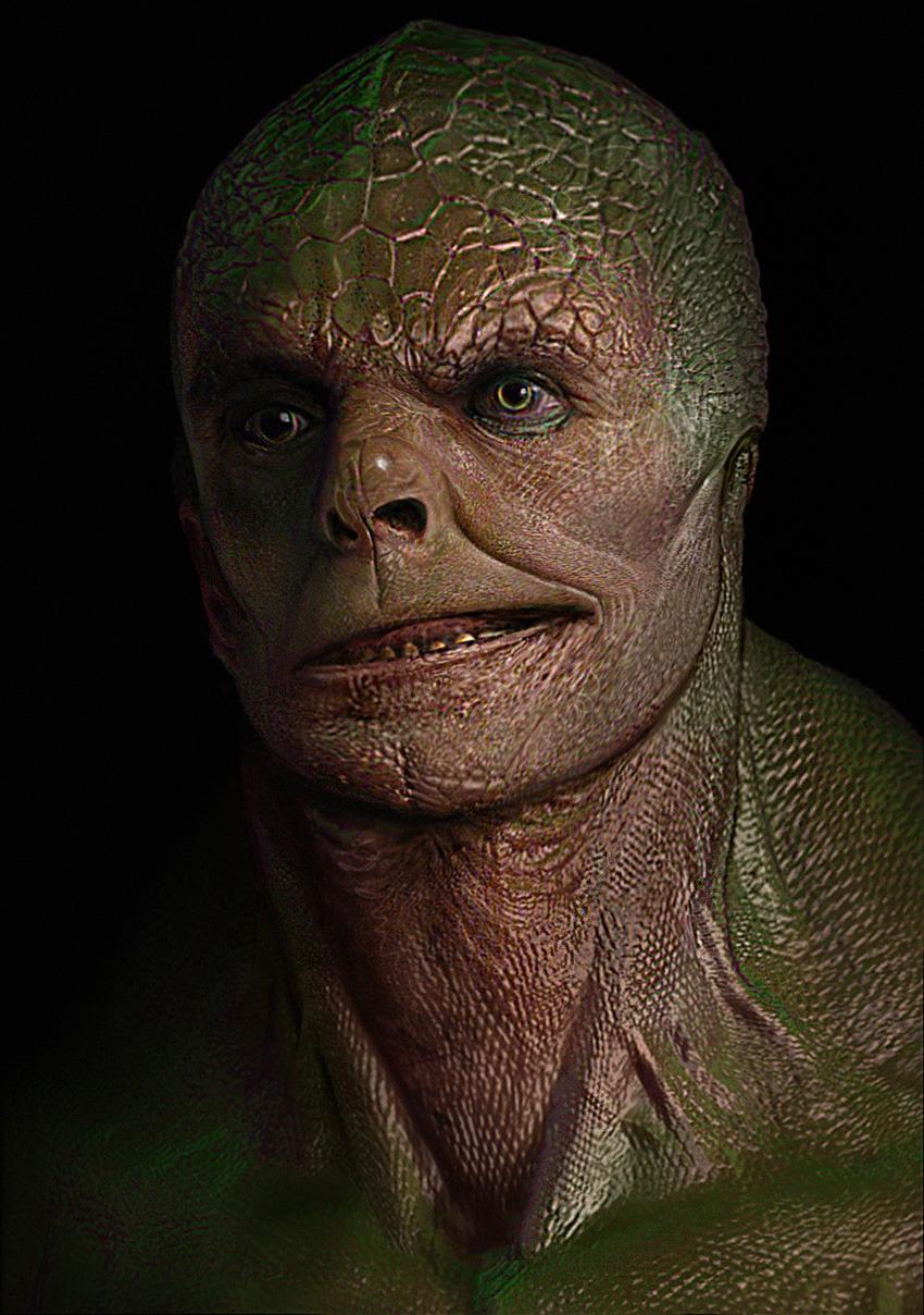 Lizard In Amazing Spider Man HD Wallpaper