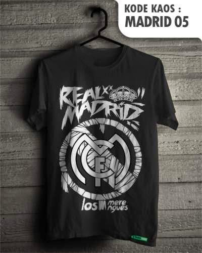 kaos distro bola real madrid 05