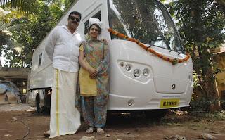 Suresh Gopiand wife