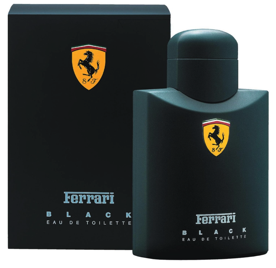 Clássicos modernos atuais perfumes Ferrari Black