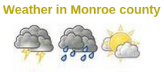 Weather in Monroe County