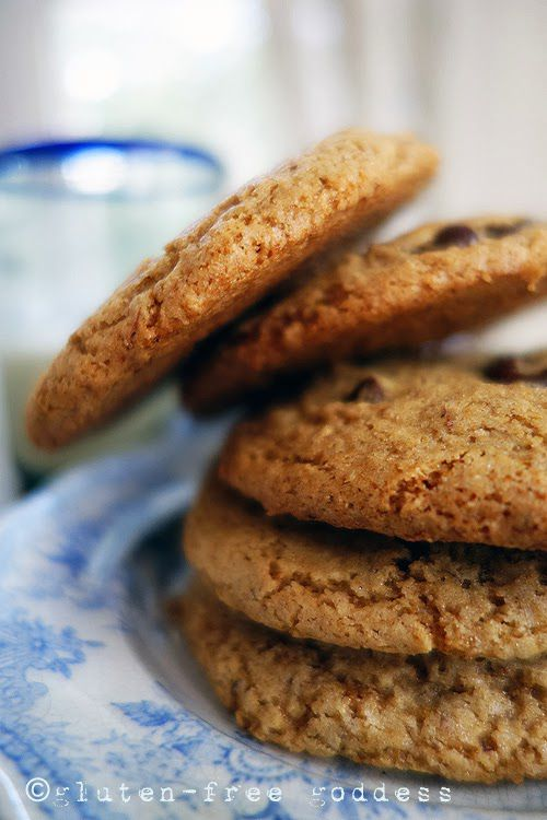 Gluten-Free Goddess Recipes: Buckwheat Chocolate Chip Cookies