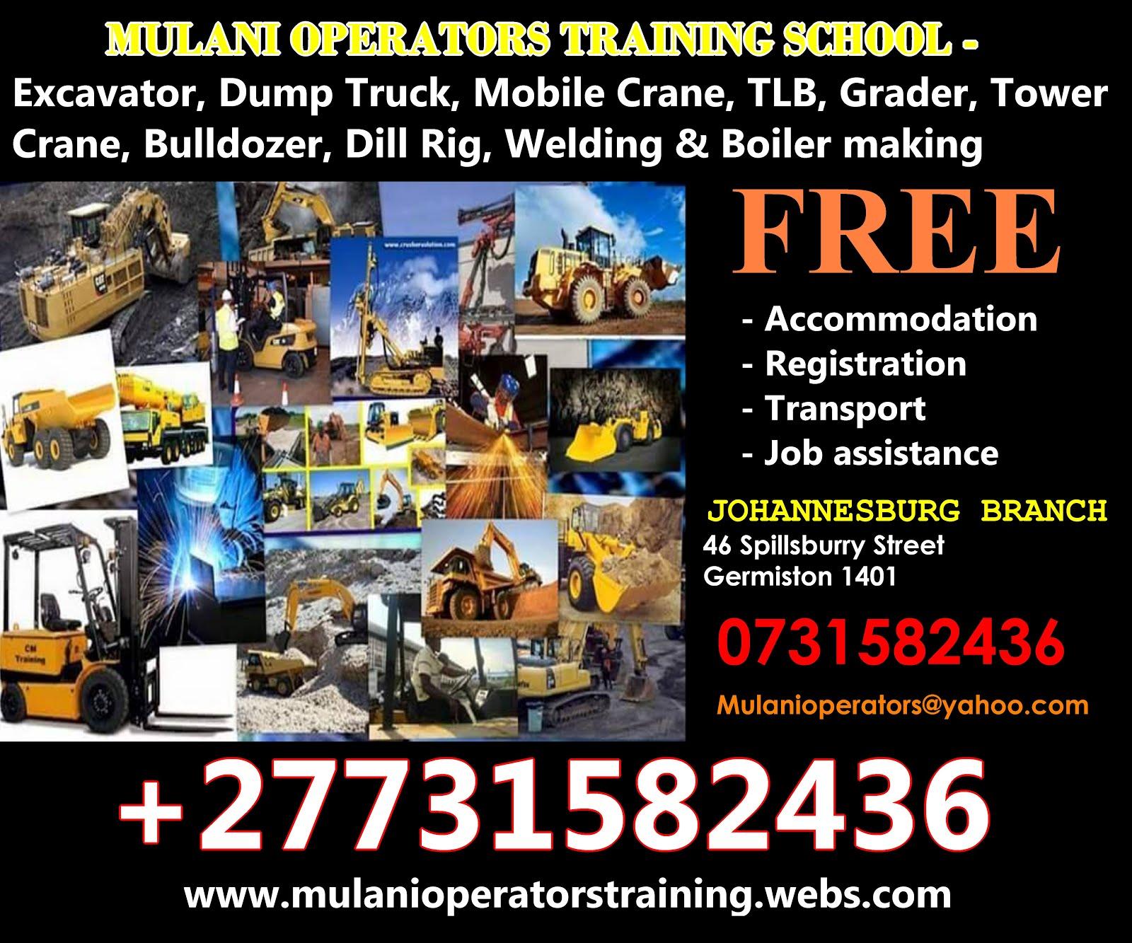 Mulani Operatorswelding Training School27731582436 Dump Truck