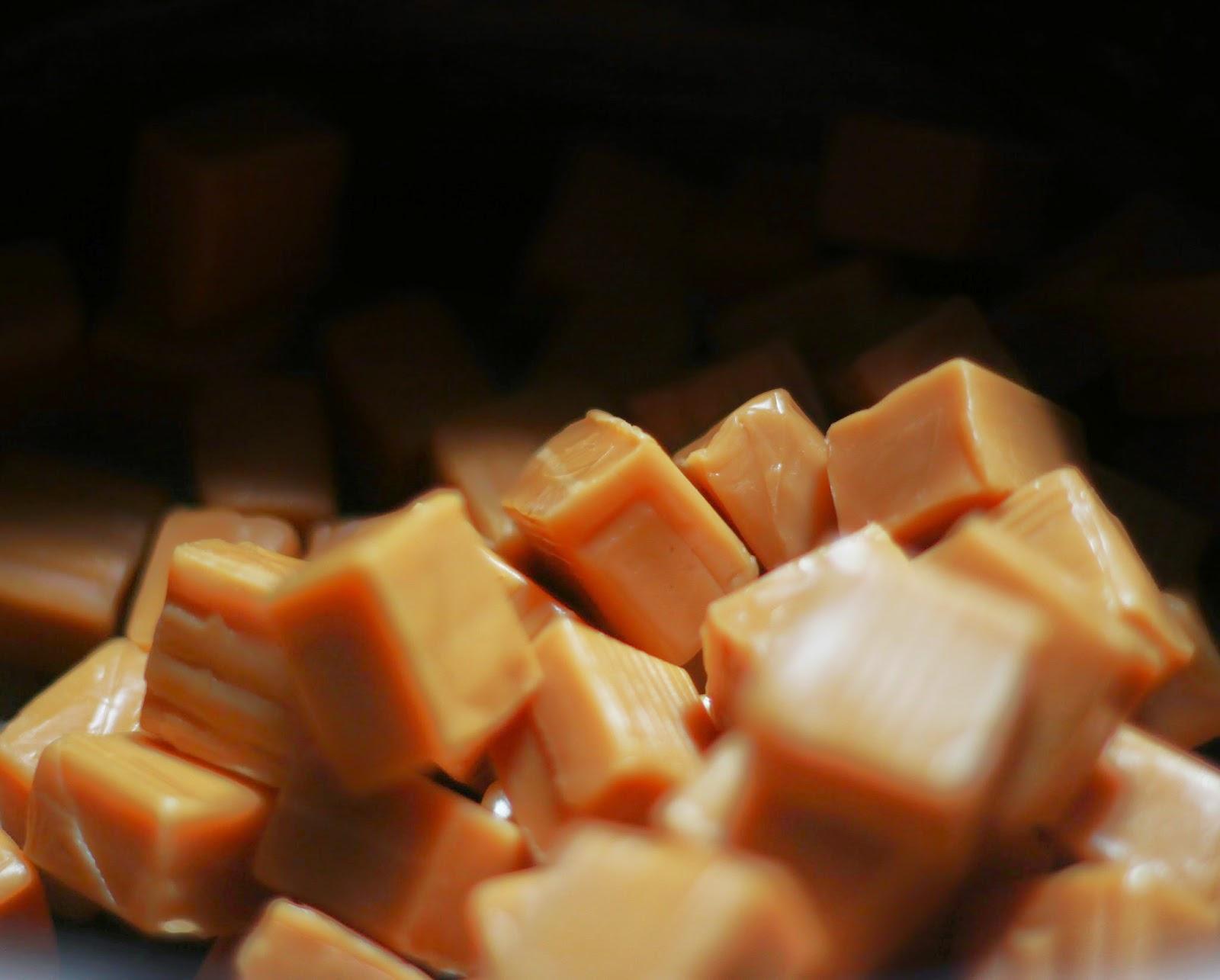 caramels, candy, homemade caramel sauce