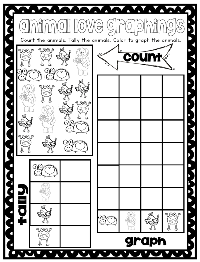 The Teacher Gene Kindergarten Graphing with Worksheet Wednesday – Kindergarten Graphing Worksheet