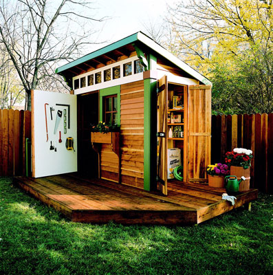 Garden Sheds Design Ideas | Home And Garden