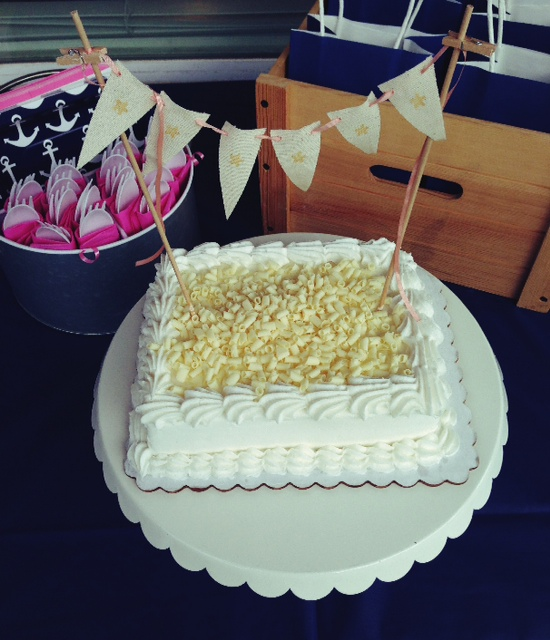 Annelily Design Pink And Nautical 1st Birthday Party