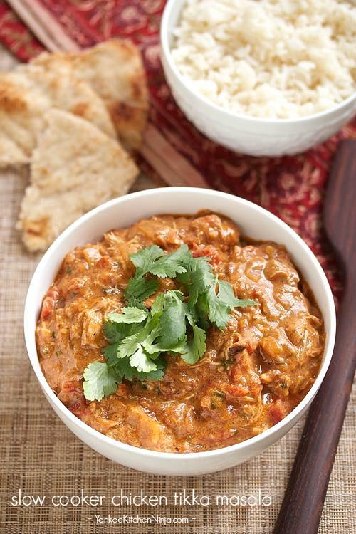 Easiest slow cooker chicken tikka masala | Yankee Kitchen ...