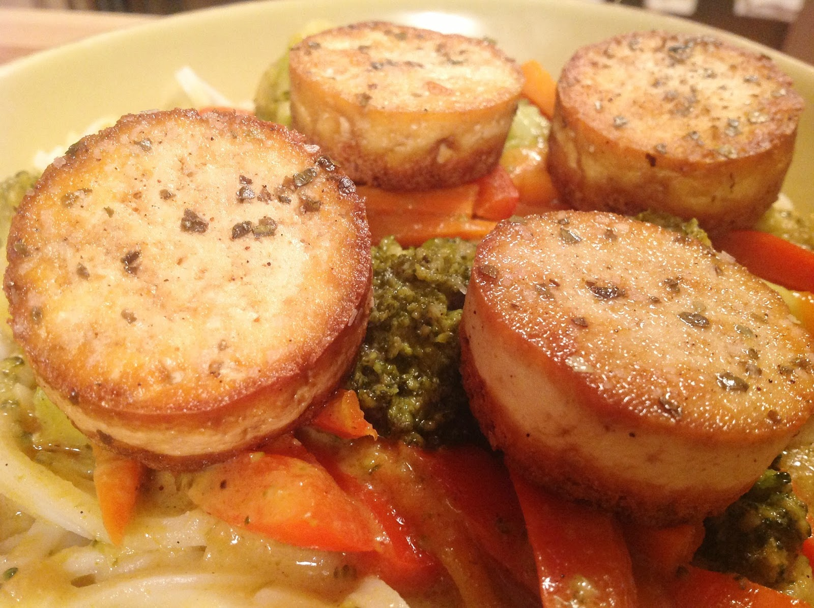 My Tofu Scallops are so delicious and they make a beautiful ...