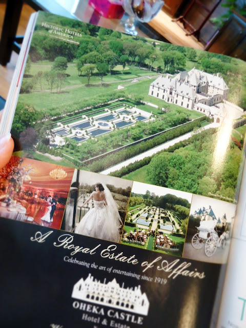 Brides Magazine: Oheka Castle.