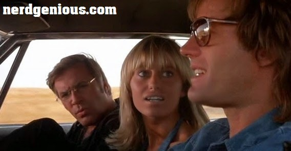 Dirty Mary, Crazy Larry starring Peter Fonda, Susan George and Adam Roarke