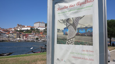 ByHaafner, crochet, granny square, yarn bomb, Porto, exhibition