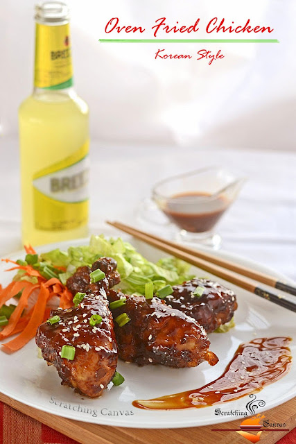 Korean Baked Sticky Chicken